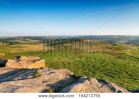 Higger Tor In The Peak District