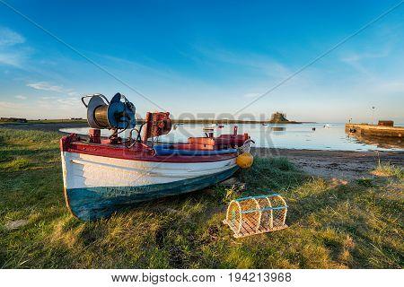 Boats At Lindisfarne