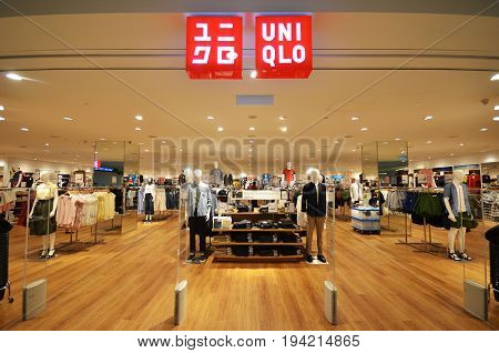 Uniqlo Store Located In Kota Kinabalu