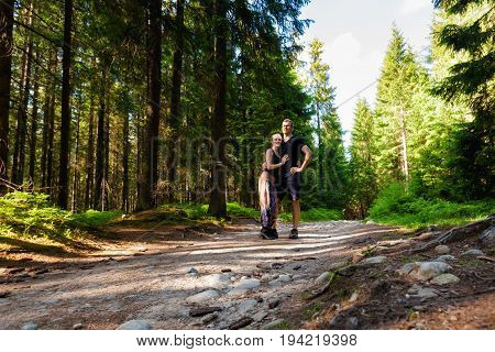 Tourists In Tatry Rusinowa Polana
