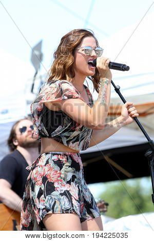 Cassadee Pope performs on day 3 of the 2017 Temecula Valley Wine and Balloon Festival on June 4, 2017 at the Lake Skinner Recreation Area in Temecula, CA.