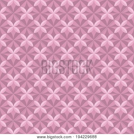 pastel pale color tender floral tile. vintage retro style geometry seamless pattern. vector illustration of repeatable motif