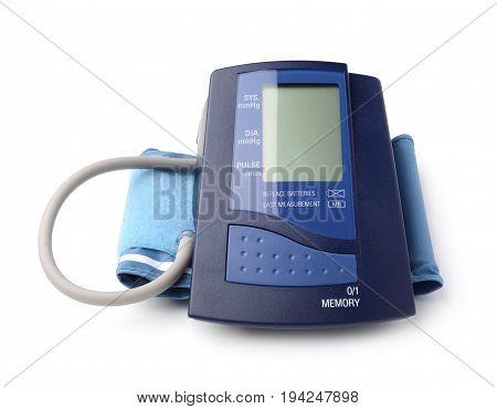 The automatic tonometer isolated on white background