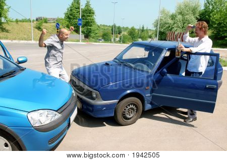 Accident Two Cars