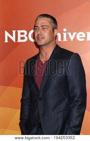 LOS ANGELES - MAR 20:  Taylor Kinney at the NBCUniversal Summer Press Day at Beverly Hilton Hotel on March 20, 2017 in Beverly Hills, CA