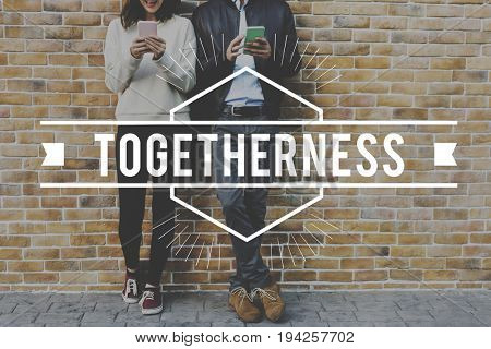 Couple dating and using device connection