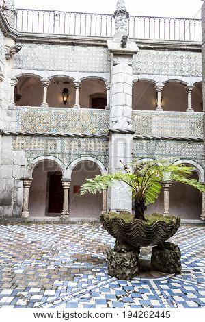 Palacio Da Pena In Sintra (portugal)
