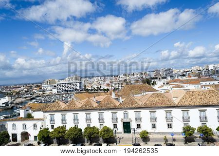 City Of Faro From The Top Of The Cathedral