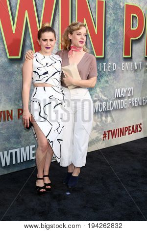 LOS ANGELES - MAY 19:  Mae Whitman, Jane Levy at the