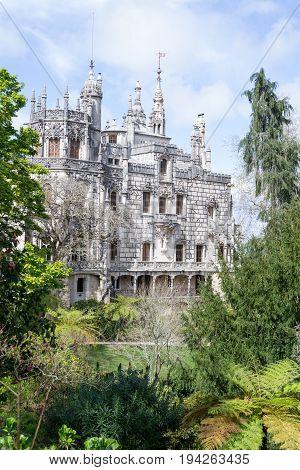 Palace At Quinta Da Regaleira In Sintra