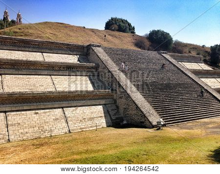 Great Pyramid Of Cholula, Tlachihualtepetl, Mexico