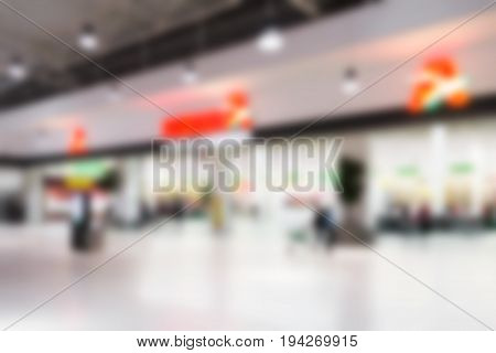 Blurred abstract background can be an illustration to the article about shopping malls supermarkets and hypermarkets