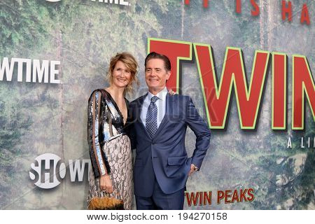 LOS ANGELES - MAY 19:  Laura Dern, Kyle MacLachlan at the
