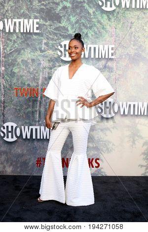 LOS ANGELES - MAY 19:  Nafessa Williams at the