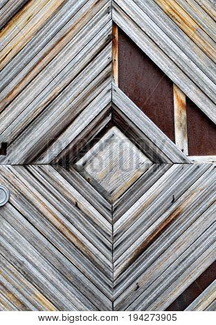 Photo background of old retro wooden masonry