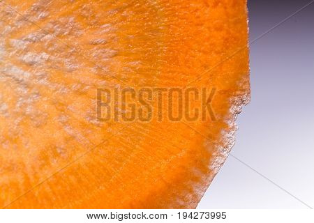 Sliced Carrot Macro