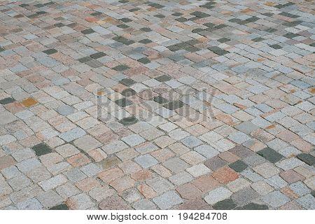 Cobblestone Pavement - Old Stone Floor / Walkway