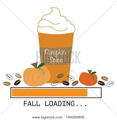 Seasonal Pumpkin Pie Spice Coffee To Go Cup