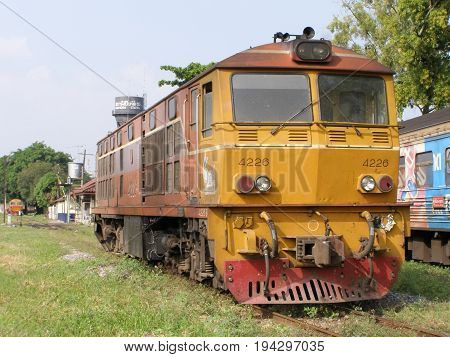 Alsthom Diesel Locomotive No 4226