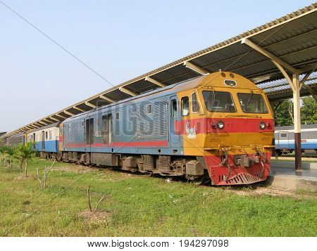 Hitachi Diesel Locomotive No 4501