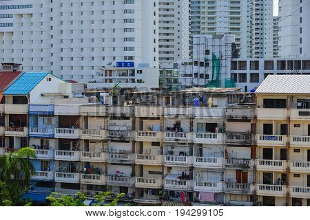 Buildings Located In Pattaya, Thailand