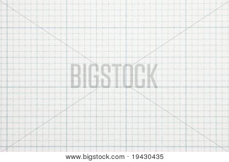 High magnification graph grid scale paper. Shot perfectly square. to image dimension.
