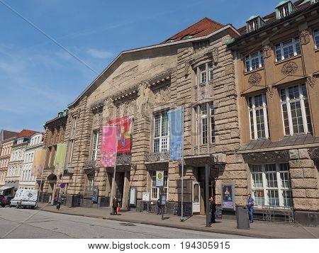 Theater Lubeck Facade