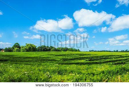 English Country Panorama (hdr)