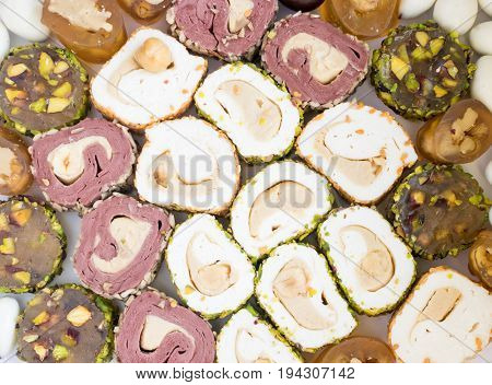 Traditional Turkish Delight Lokum