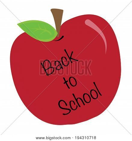 Happy Back to School Apple Teacher Students