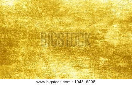 Gold Polished Metal