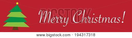 Happy Merry Christmas Tree Celebration December Sign