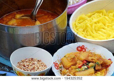Vietnam Food, Mi Quang Dalat