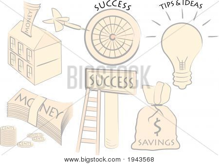 Business Motif And Icons