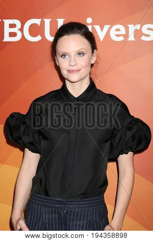 LOS ANGELES - MAR 20:  Sarah Ramos at the NBCUniversal Summer Press Day at Beverly Hilton Hotel on March 20, 2017 in Beverly Hills, CA