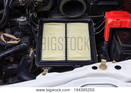 Car engine air filter of new car Auto spare part