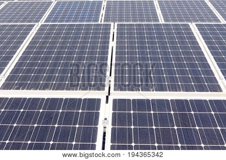 Large solar power panels
