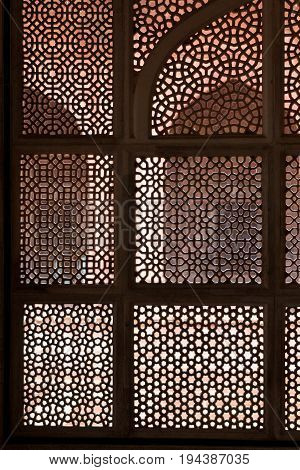 Window Ornament  In Rajasthan, India