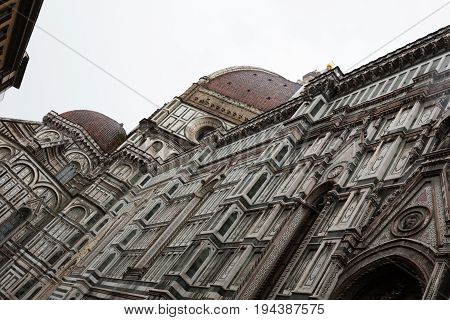 Basilica Of The Holy Cross In Florence