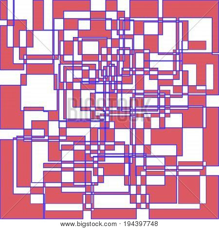 Abstract geometric rectangles bacground eps10 colored image