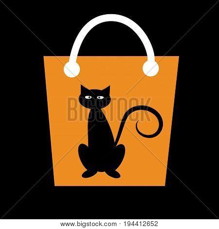 Happy Halloween Spooky Candy Treat Goodie Bag