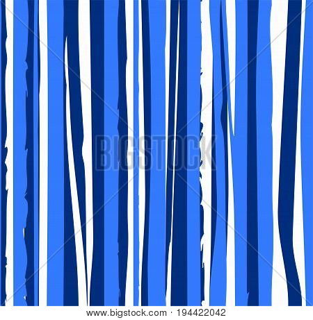 Uneven blue stripes, seamless background, vector. Uneven blue stripes, seamless background, vector.