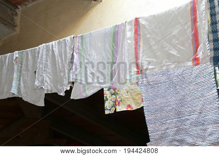 Canovars Hung To Dry In The Attic Of The House