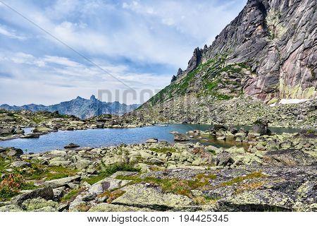 Morena Lake In Siberian Highlands