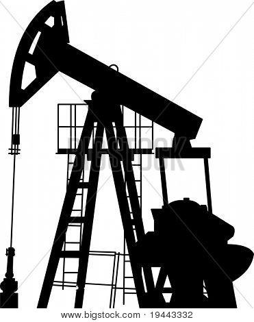 Oil Pump in Vector Art