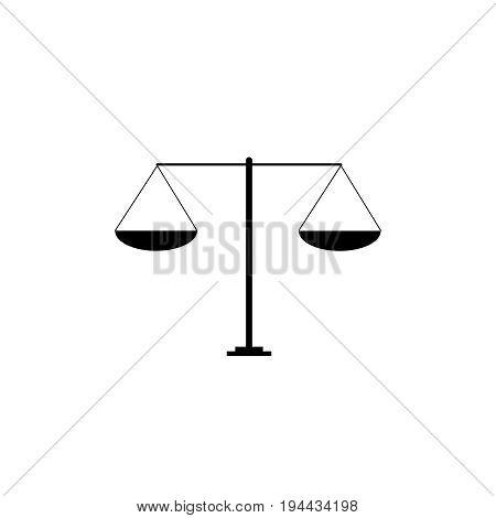 scales vector illustration libra symbol  scale icon