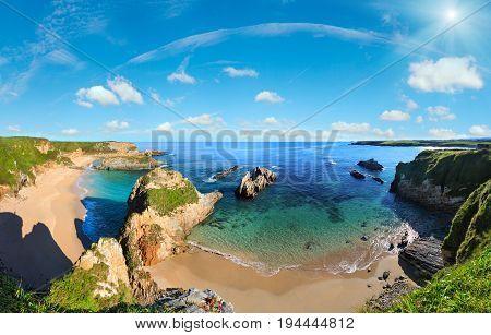 Atlantic Ocean Coast, Spain.