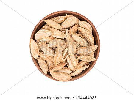 Uzbek Almonds In Bowl