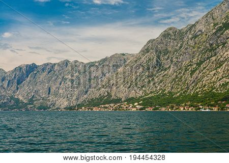 View Of The Coast Of The Bay Of Kotor
