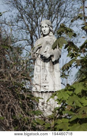 disciples of Jesus Christ apostle Paul (ancient statue)